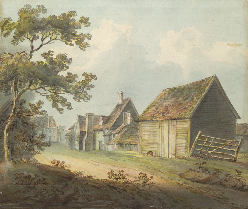 View of Radlett, on the road to Elstree